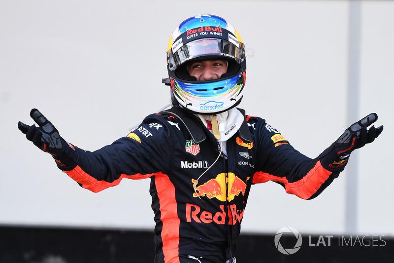 Daniel Ricciardo: 226 dias - Última vitória: GP do Azerbaijão de 2017
