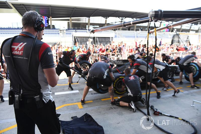 Stuart Cramp, Haas F1 Team, Chefmechaniker, und Haas F1 Team