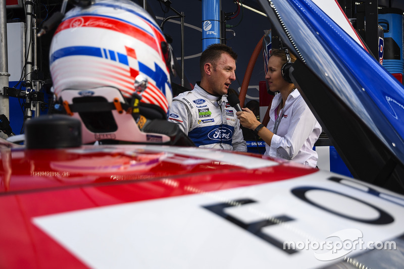 GTLM polesitter Joey Hand, Ford Performance Chip Ganassi Racing