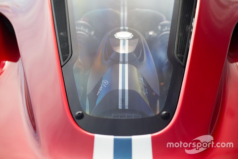 Detail Ferrari