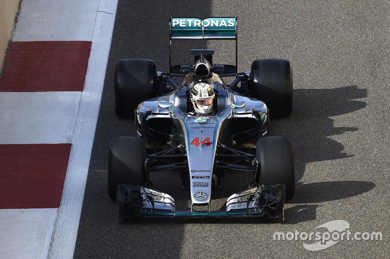 Lewis Hamilton, Mercedes F1 Team con los Pirelli 2017