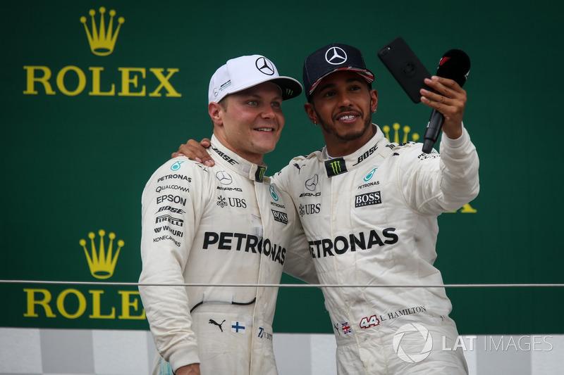 Валттері Боттас, Льюіс Хемілтон, Mercedes AMG F1