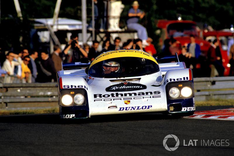 Аль Холберт, Херлі Хейвуд, Верн Шуппан, Porsche 956