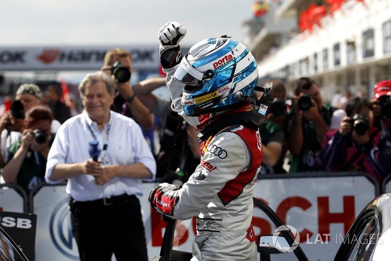 Переможець гонки Рене Раст, Audi Sport Team Rosberg, Audi RS 5 DTM