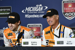 Ryan Blaney, Wood Brothers Racing Ford press conference, car unveil