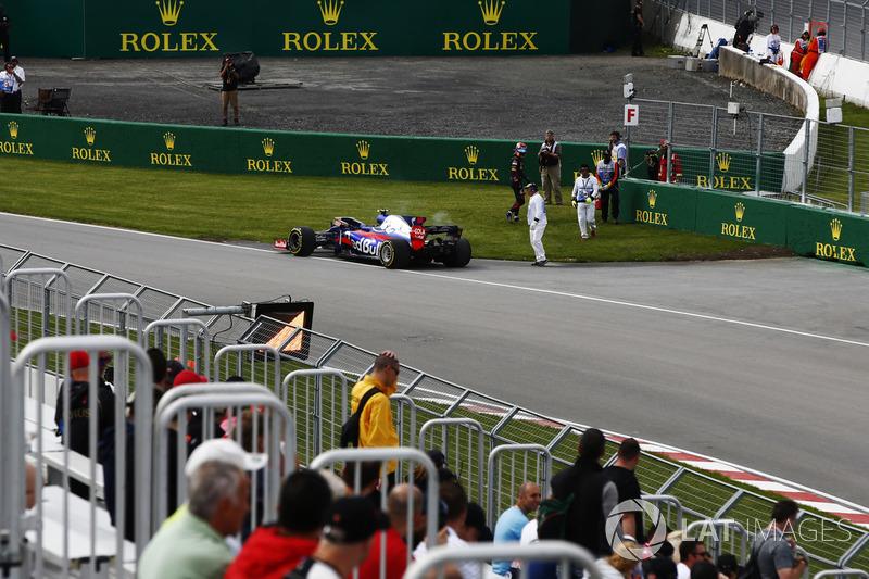 Defekt: Carlos Sainz Jr., Scuderia Toro Rosso STR12