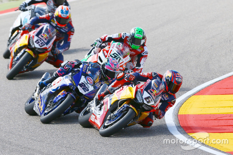 Stefan Bradl, Honda World Superbike Team, Alex Lowes, Pata Yamaha