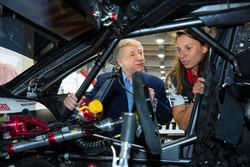 Simona de Silvestro, Nissan Motorsports, Jean Todt, FIA president