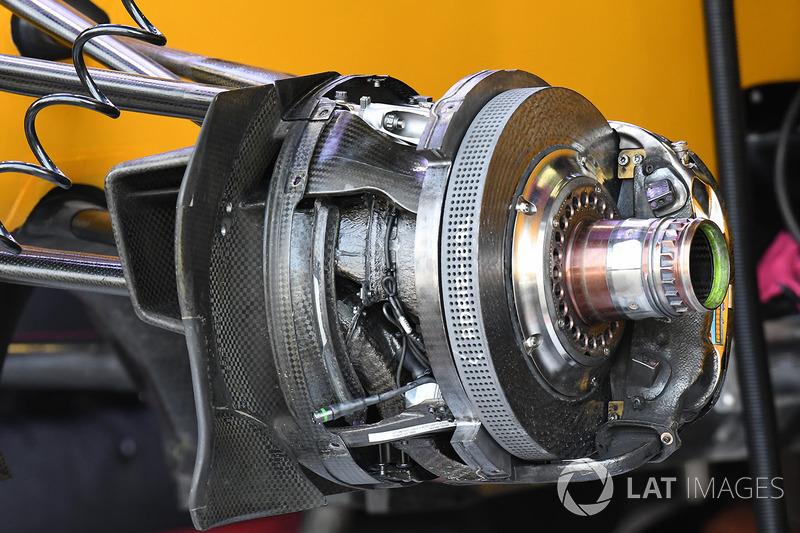 Передние тормоза Renault RS17