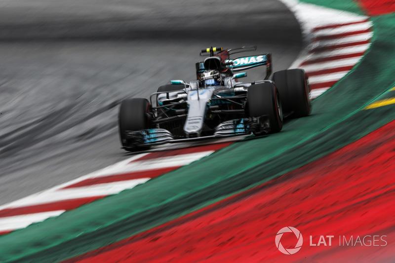 Победитель: Валттери Боттас, Mercedes AMG F1 W08
