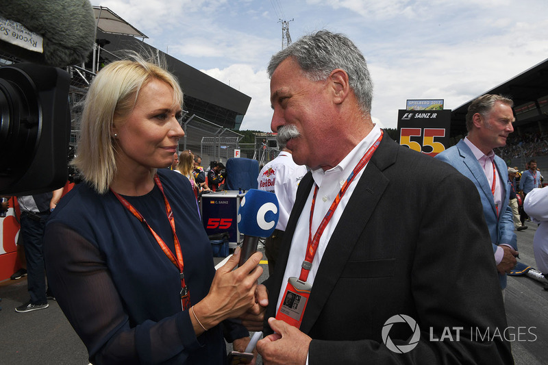 Chase Carey, Chief Executive Officer, Executive Chairman of the Formula One Group
