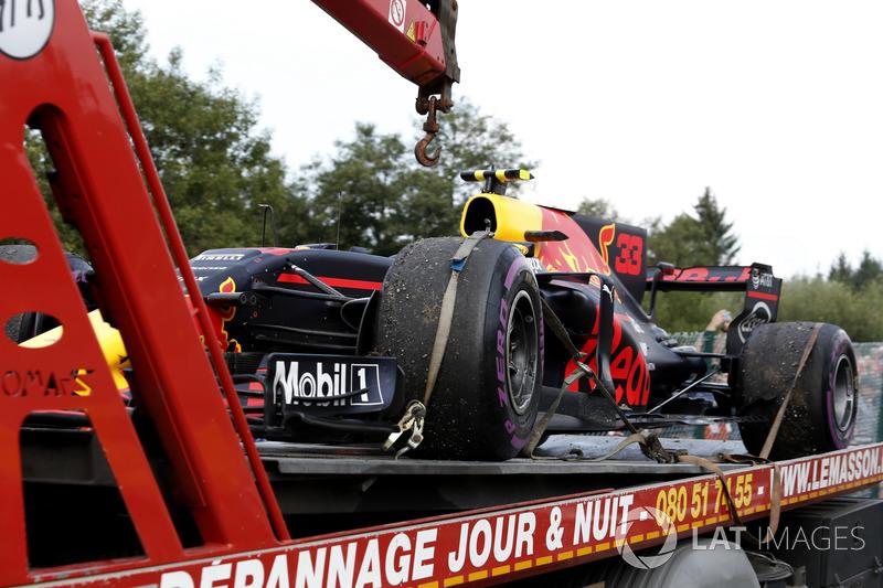 Verstappen, el que menos giró en carrera