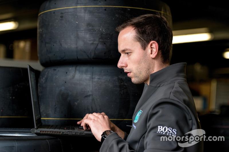 Fabien Chenin, Mercedes-AMG Motorsport DTM, Reifeningenieur