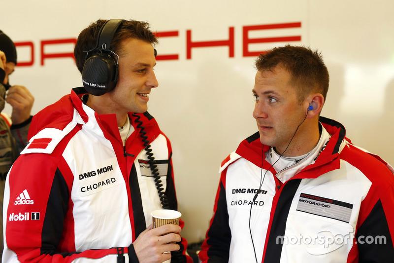 Earl Bamber, Nick Tandy, Porsche Team