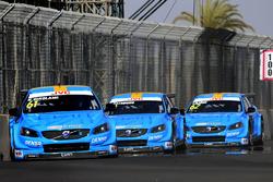 Nestor Girolami, Polestar Cyan Racing, Volvo S60 Polestar TC1, Nicky Catsburg, Polestar Cyan Racing, Volvo S60 Polestar TC1, Thed Björk, Polestar Cyan Racing, Volvo S60 Polestar TC1