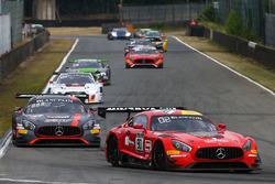 #90 Akka ASP Mercedes AMG GT3: Майкл Мідоуз, Рафаеле Марчелло