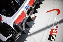 Toyota Yaris WRC, Toyota Racing: Diffusor