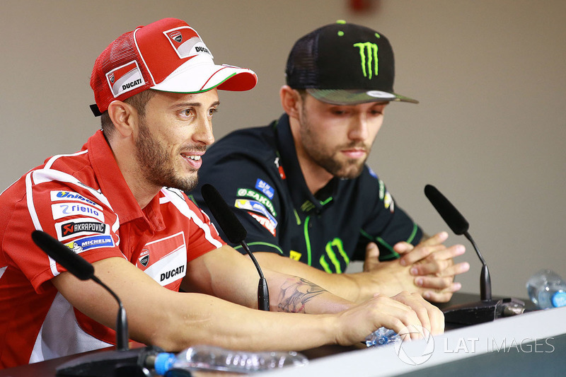 Андреа Довіціозо, Ducati Team, Йонас Фольгер, Monster Yamaha Tech 3
