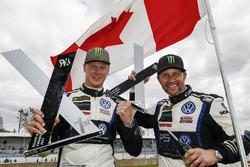 1. Johan Kristoffersson, PSRX Volkswagen Sweden VW Polo GTI; 2. Petter Solberg, PSRX Volkswagen Swed