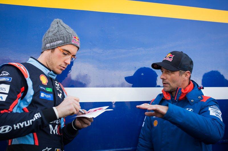 Thierry Neuville, Hyundai Motorsport, Sébastien Loeb, Hyundai Motorsport