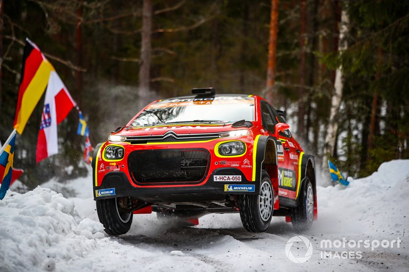 Мадс Остберг, Торстейн Еріксен, Citroen World Rally Team WRC2 PRO, Citroen C3 R5