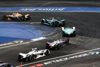 Jean-Eric Vergne, DS TECHEETAH, DS E-Tense FE19 Mitch Evans, Panasonic Jaguar Racing, Jaguar I-Type 3, Oliver Turvey, NIO Formula E Team, NIO Sport 004