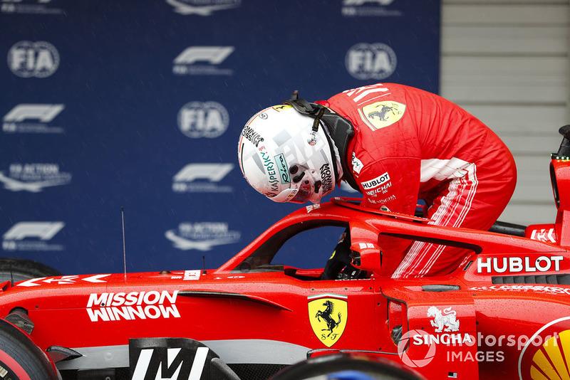 8: Sebastian Vettel, Ferrari SF71H, 1:32.192