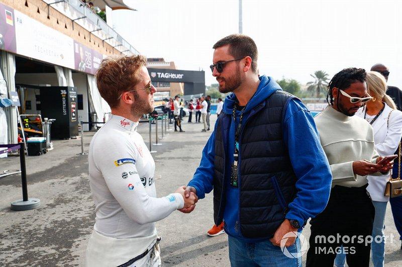 Sam Bird, Envision Virgin Racing con Scott Disick