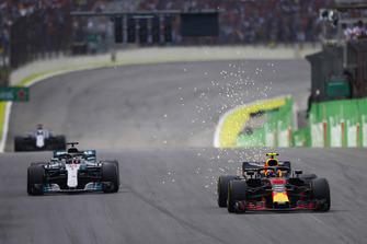 Max Verstappen, Red Bull Racing RB14, Lewis Hamilton, Mercedes AMG F1 W09 EQ Power+