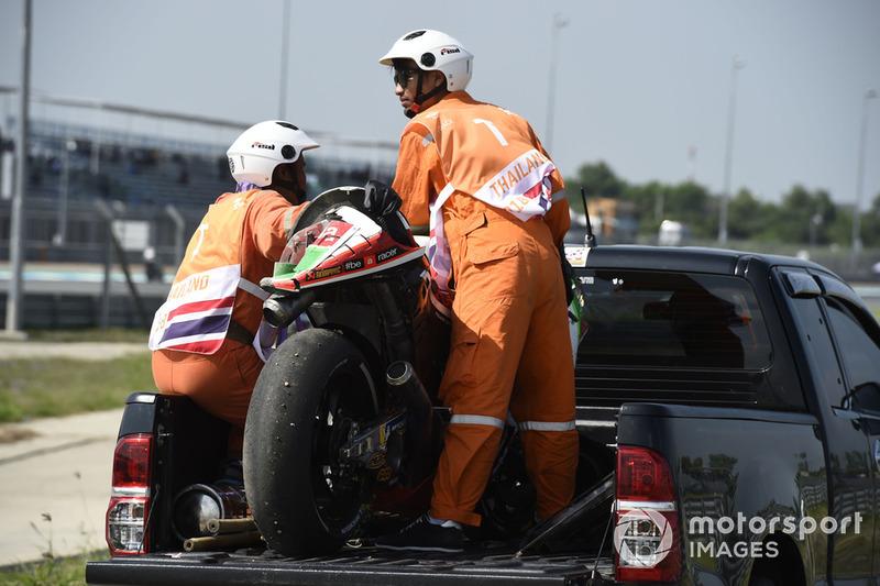 Мотоцикл Скотта Реддінга, Aprilia Racing Team Gresini, після аварії