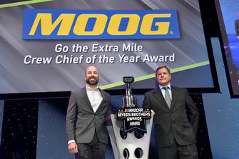 Go the Extra Mile Crewchief of the Year Award: Adam Stevens, Joe Gibbs Racing