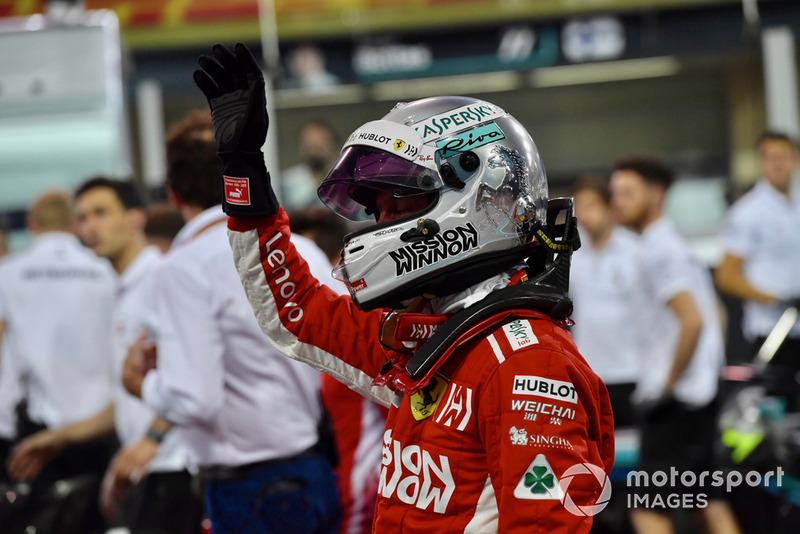 GP Abu Dhabi - Sebastian Vettel