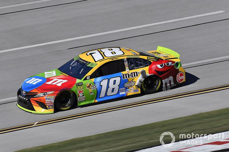 9. Kyle Busch, Joe Gibbs Racing, Toyota Camry M&M's
