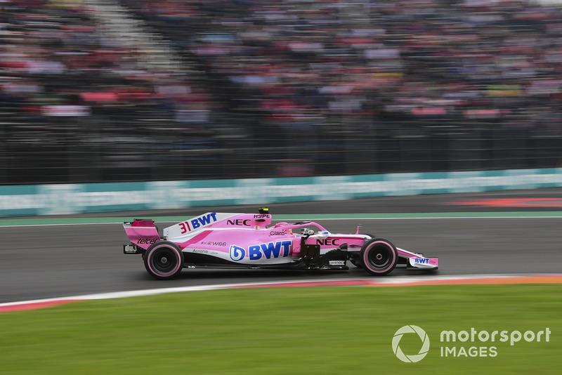 11: Esteban Ocon, Racing Point Force India VJM11, 1'16.844