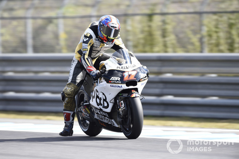 #17 Karel Abraham (Tschechien) – Ducati Desmosedici GP18 (Jahrgang 2018)