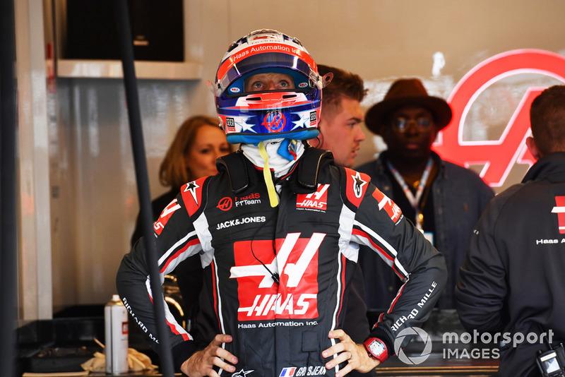 GP Amerika Serikat - Romain Grosjean