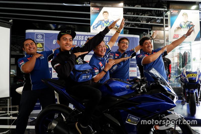 M Faerozi, Yamaha Racing Indonesia berserta manajemen PT. Yamaha Indonesia Motor Manufacturing (YIMM)