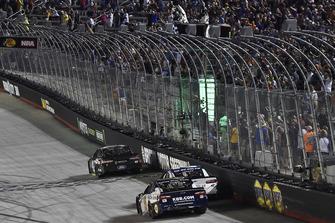 Kurt Busch, Stewart-Haas Racing, Ford Fusion Monster Energy / Haas Automation, festeggia la vittoria