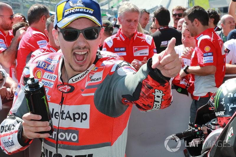 Ganador Jorge Lorenzo, Ducati Team