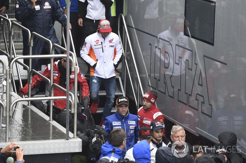 Марк Маркес, Repsol Honda Team, після засідання Комісії з безпеки