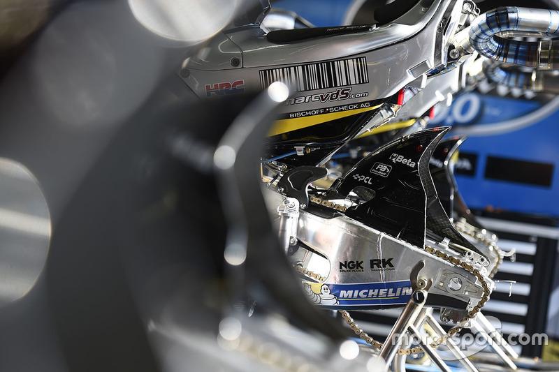 Marc VDS Honda bike detail