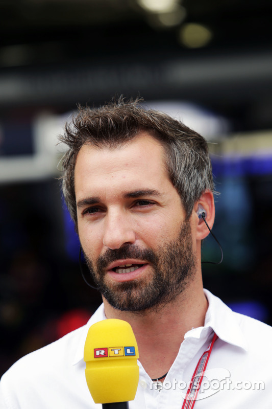 Timo Glock, RTL Presenter