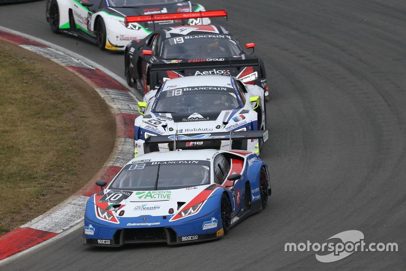 #10 Ombra Racing, Lamborghini Huracan GT3: Giovanni Berton, Matteo Beretta, Alex Frassineti
