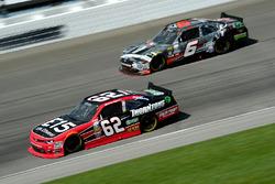 Austin Dillon, Richard Childress Racing Chevrolet, Darrell Wallace Jr., Roush Fenway Racing Ford