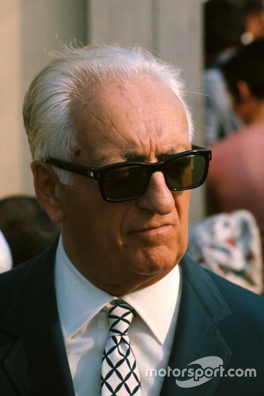 Enzo Ferrari in 1971