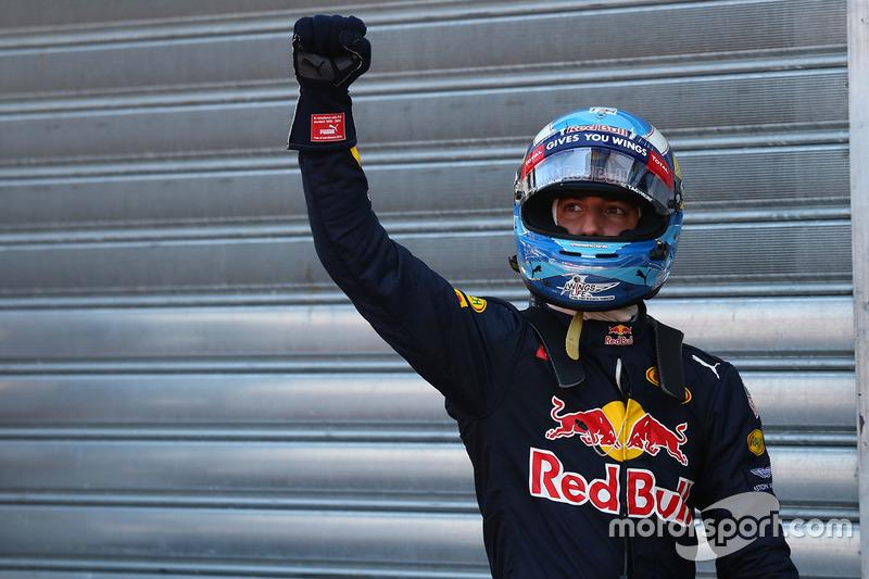 Poleman Daniel Ricciardo, Red Bull Racing