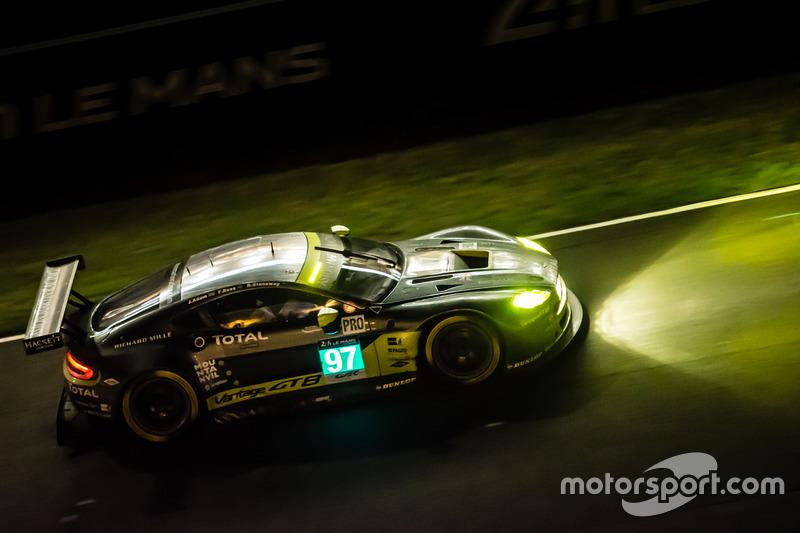 24th: #97 Aston Martin Racing Aston Martin Vantage: Richie Stanaway, Fernando Rees, Jonathan Adam