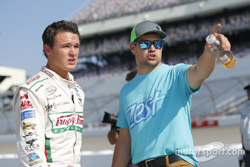 Gray Gaulding, Ricky Stenhouse Jr., Roush Fenway Racing Ford