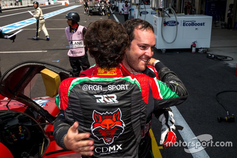 Pole for the #43 RGR Sport by Morand Ligier JSP2 - Nissan: Ricardo Gonzalez, Filipe Albuquerque, Bruno Senna