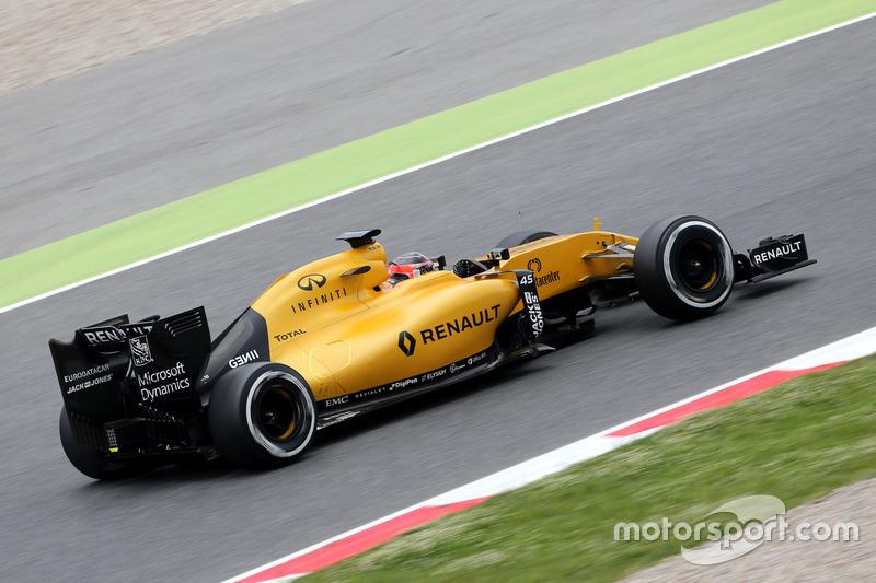 Renault 2016: Esteban Ocon, Renault R.S. 16